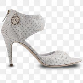 WHITE SHOE - Walking Shoe Sandal Beige PNG