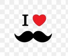 Vector Mustache - Movember Moustache Clip Art PNG