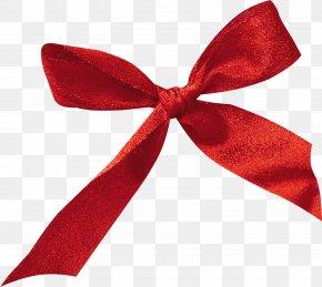 Bow - Ribbon Christmas Gift Clip Art PNG