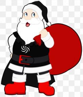 Santa Claus - Santa Claus Christmas Human Behavior Cartoon Clip Art PNG