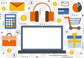 Vector Letter Headphones - Internet PNG
