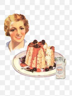 Cake - Milk Pudding Gender Role Food Frozen Dessert PNG