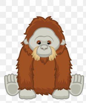 Orangutan - Orangutan Clip Art Ape Image Gorilla PNG