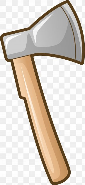 Simple Grey Axe - Axe Woodworking Tool PNG