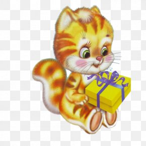Kitten - Happy Birthday To You Animation Wish Clip Art PNG