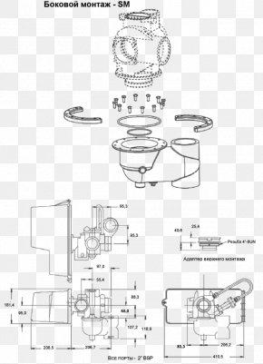 Aquarellfleck - Technical Drawing Paper Sketch Design PNG