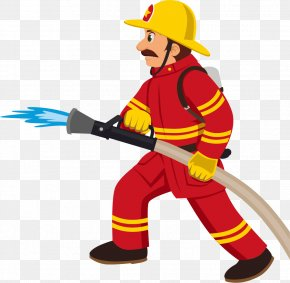 Cartoon Fireman PNG