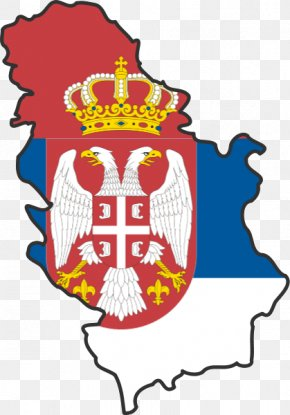 Flag - Flag Of Serbia Serbia And Montenegro Serbian Empire First Serbian Uprising PNG