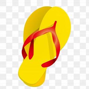 Sandals Vector - Slipper Shoe Clip Art PNG
