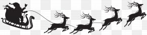 Santa Claus Silhouette Clip Art Image - Santa Claus Christmas Clip Art PNG