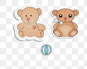 Toy Bear Vector Material - Bear Toy Computer File PNG