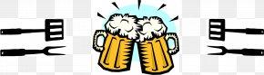 Beer Bbq - Beer Bottle Beer Glasses T-shirt Vegetarianism And Beer PNG