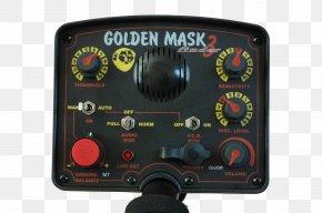 Golden Stereo - Metal Detectors Garrett Electronics Inc. GM3 Aukro Measuring Instrument PNG