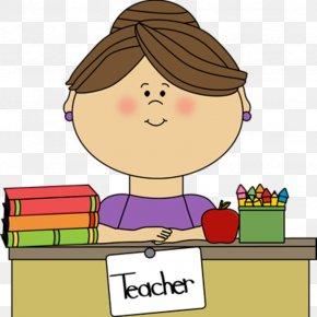 Teacher - Teacher Student School Clip Art PNG