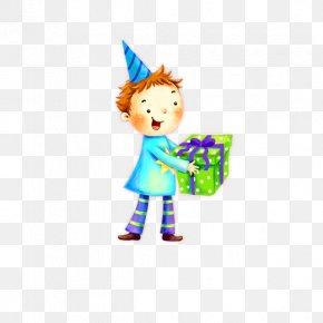 Cartoon Boy - Happy Birthday To You Party Wish Clip Art PNG