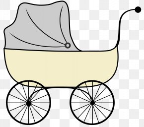 Baby Buggy Cliparts - Baby Transport Infant Clip Art PNG