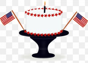 July - United States Birthday Cake Independence Day Clip Art PNG