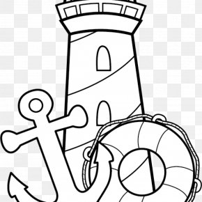 Lighthouse Drawing - Clip Art Vector Graphics Drawing Openclipart PNG