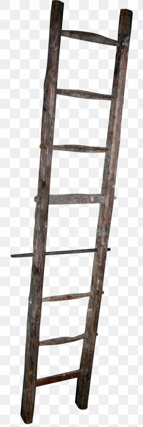 Ladder - Wood Ladder Stairs PNG