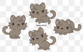 Jaguarundi - Lion Cat Felidae Whiskers Drawing PNG