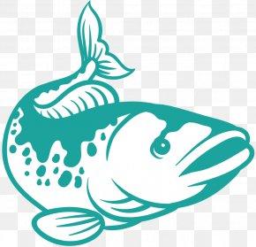 M - Clip Art Shoe Line Art Fish Black & White PNG
