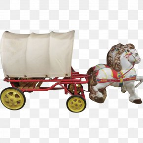 Horse - Horse Chariot Wagon Toy Carriage PNG