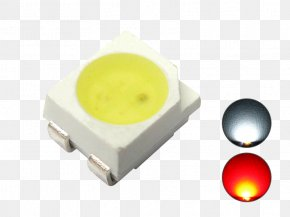 Light - Surface-mount Technology Light-emitting Diode Yellow SMD LED Module PNG