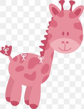 Giraffe Vector - Wedding Invitation Northern Giraffe Baby Shower PNG