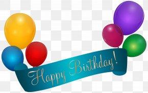 Happy Birthday Banner Transparent Clip Art - Birthday Banner Clip Art PNG
