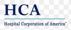 HCA Holdings Logo - Hospital Corporation Of America Health Care Florida Hospital Osceola Regional Hospital, Inc. PNG