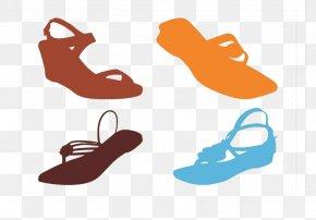 Sandals Flat Sandals Comfort - Slipper Shoe Sneakers Clip Art PNG