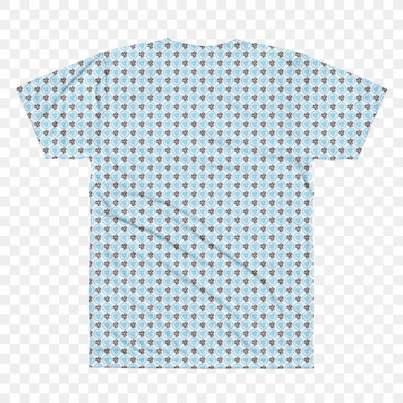 T-shirt Scarf Cotton Polo Shirt, PNG, 1000x1000px, Shirt, Aqua, Blue, Clothing, Clothing Accessories Download Free