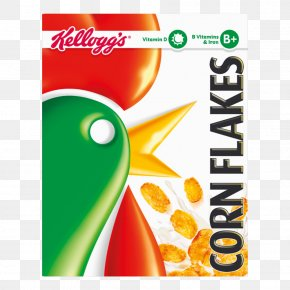 Corn Flakes - Corn Flakes Breakfast Cereal Cocoa Krispies Kellogg's PNG
