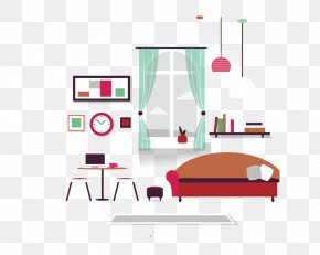 Cartoon Home - Living Room Interior Design Services House Painter And Decorator Furniture PNG