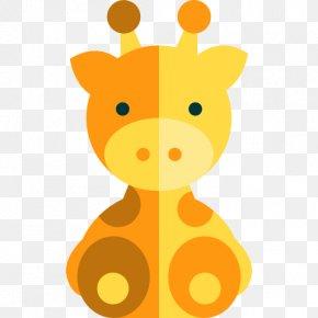 Baby Animals - Northern Giraffe Animal Clip Art PNG