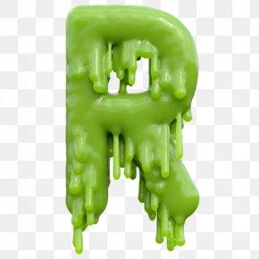 Melting Font - Typeface Typography Letter Green Font PNG