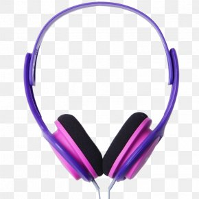 Blue Wired Headset - Headphones Head-mounted Display Ear Stereophonic Sound PNG