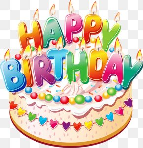 Birthday - Birthday Cake Cupcake Clip Art PNG