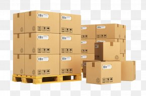 Express Delivery Box - Freight Transport Pallet Less Than Truckload Shipping Corrugated Box Design Cargo PNG