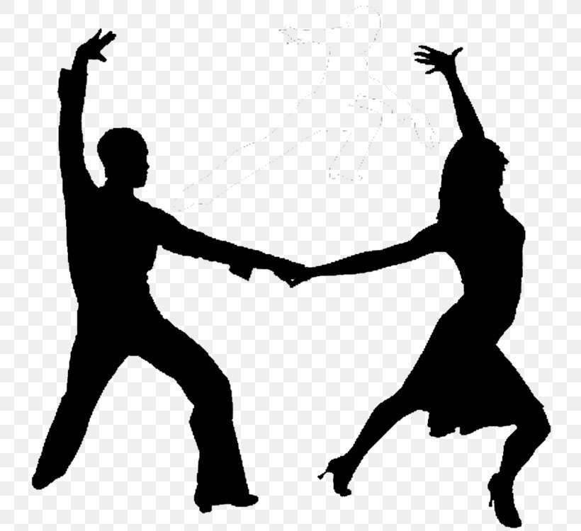 Latin Dance Silhouette Png 750x750px Latin Dance Art Black And White Dance Dance Studio Download Free
