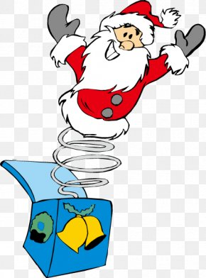 Santa Claus Toy Figure - Santa Claus Christmas Clip Art PNG