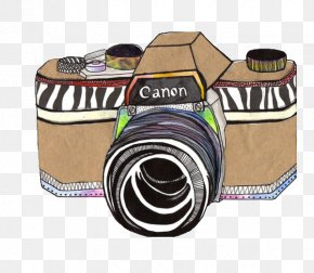 Cartoon Camera - Drawing Camera Photography Illustration PNG