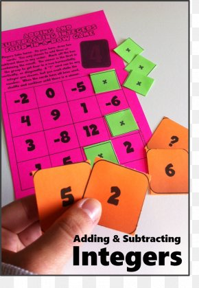 Think Math Games - Mathematics Subtraction Addition Integer Game PNG