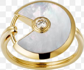 Ring - Ring Cartier Jewellery Colored Gold Amulet PNG