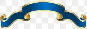 Banner Blue Deco Clip Art Image - Green Clip Art PNG