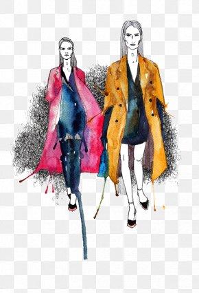 Simple Design Women's Fashion Illustration - Fashion Illustration Illustration PNG