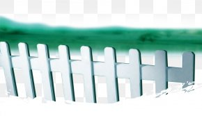 White Picket Fence Lawn - Picket Fence Lawn White PNG