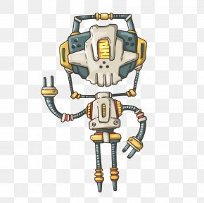 Free To Pull The Material Of The Robot - Superheroes Robot Battle Superhero Robot Euclidean Vector PNG