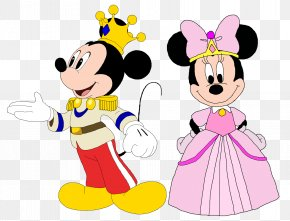 Mickey Mouse Y Minnie - Minnie Mouse Mickey Mouse Goofy Princess PNG