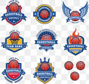 Blue Basketball Team Logo Logo Vector Material - Basketball Logo Royalty-free Stock Photography PNG